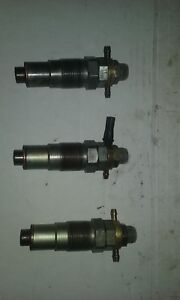 Details about Iseki LT2700F tractor 3 Injectors from E3AG1 running  engine--used