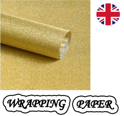 Glitter sparkle gift wrapping sheets perfect for all occasions 69x49cm