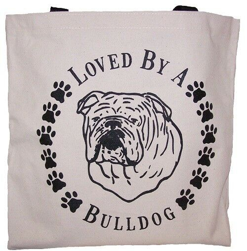 acquista marca Bulldog Bulldog Bulldog Tote Bags New  MADE IN USA Lot of 10  forniamo il meglio