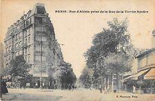 CPA 75 PARIS 14e RUE D'ALESIA PRISE DE LA RUE DE LA TOMBE ISSOIRE