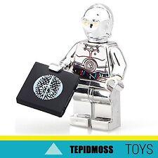 LEGO Star Wars TC-14 Cromo Oro Custom minifig EDIZIONE LIMITATA