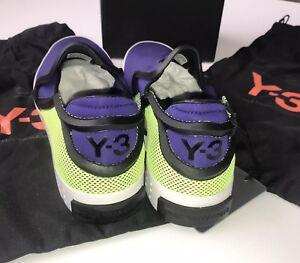 b174effa7 Image is loading adidas-y3-trainers-size-8-BNIB-RRP-150-