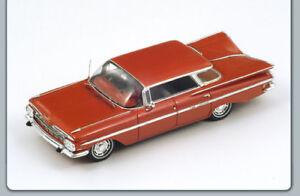 Chevrolet Impala Berline Quatre Fenêtres 1959 Lobster Red 1:43 Spark S2903 Modèle