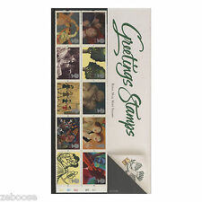 Great Britain 1995 Art Greetings Stamps Presentation Pack (plate W2–W1–W2–W1–W2)