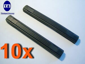 Qualified 10 Pcs 9.5mm Hard Drive Rubber Rails For Lenovo T60 T60p T61 T61p T400 T400s T410 T410i T420 T500 T510 T510i T520 T520i Laptop Accessories