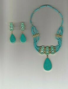Disney Pocahontas Princess Jewelry Costume Set Dress Up Necklace Earrings NEW