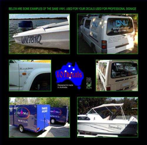 2x30cm AWESOME stickers decals.Car,4x4,tinny,ski boat,jetski,waverunner graphics