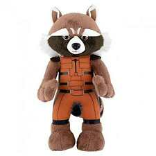 "MARVEL UNIVERSE ROCKET RACCOON 10"" PLUSH BLEACHER CREATURES NEW w/TAG #snov16-94"