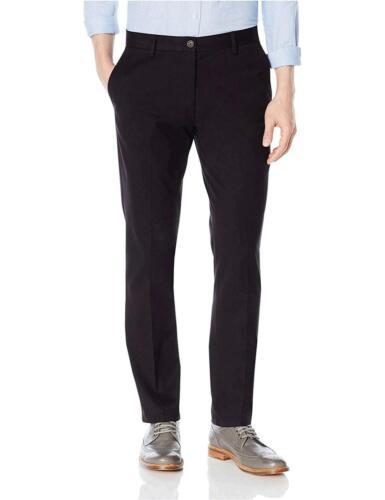 Black Goodthreads Men/'s Slim-Fit Wrinkle-Free Dress Chino Pant, Size 31W x 30L