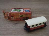 Matchbox Superfast 1-75 Series No 44 Passenger Coach Mint in Box