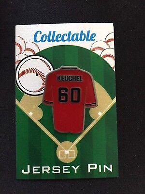Baseball & Softball Herrlich Houston Astros Dallas Keuchel Trikot Revers Pin-world Serie Champion-collectable Buy One Give One
