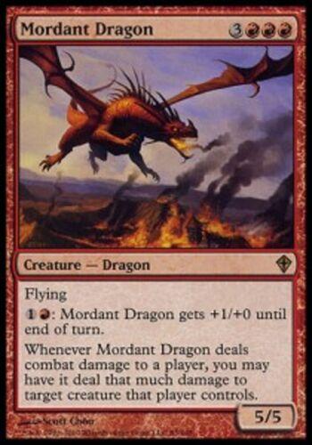 *MRM* FR FOIL Dragon acrimonieux (Mordant Dragon) MTG Worlwake