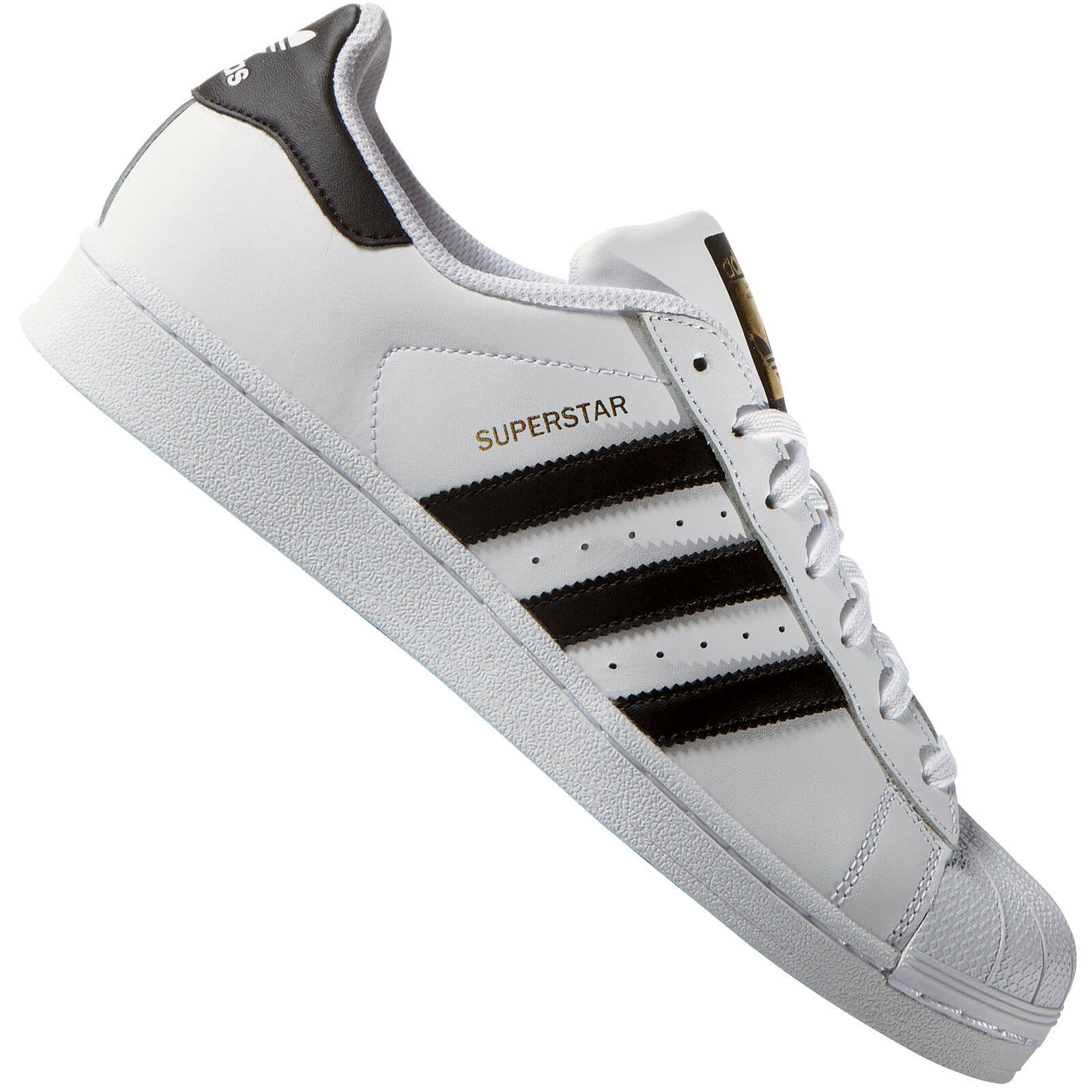 ADIDAS ORIGINALS SUPERSTAR MEN's WOMEN's Sneaker C77124 White Low Shoes Leder Comfortable and good-looking