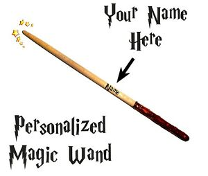 Harry Potter 10 Inch Magic Wand Personalized Wizard Hermione