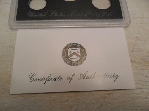 1998 *SILVER* Proof Set Box and Lens ONLY
