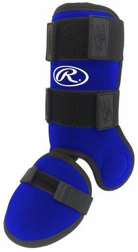 RAWLINGS BASEBALL HITTERS LEG GUARD MODEL GUARDLEG blueE
