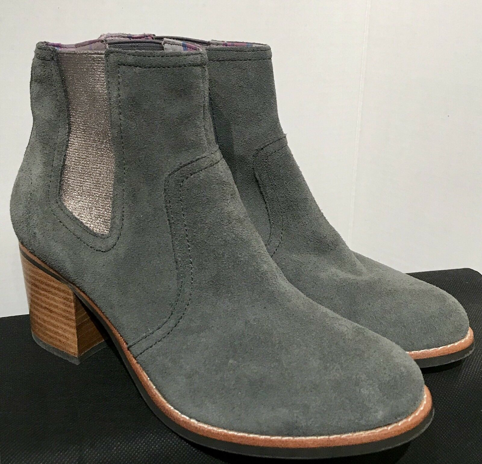 SPERRY TOP-SIDER Ankle Stiefel MARLOW 8.5 GRAY SUEDE Schuhe SIZE: 8.5 MARLOW M NWOB a870e4