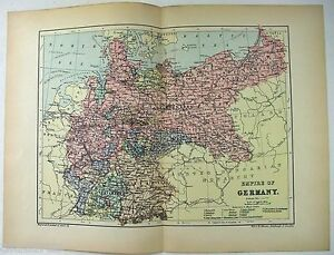Original-1895-Map-of-The-Empire-of-Germany-by-W-amp-A-K-Johnston