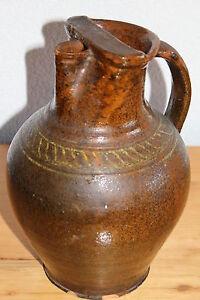 Bauer Alte Flasche Bauernkeramik