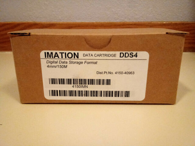 Imation 4mm 20 40 GB DDS-4 Tape Media 40963 (10 PACK)