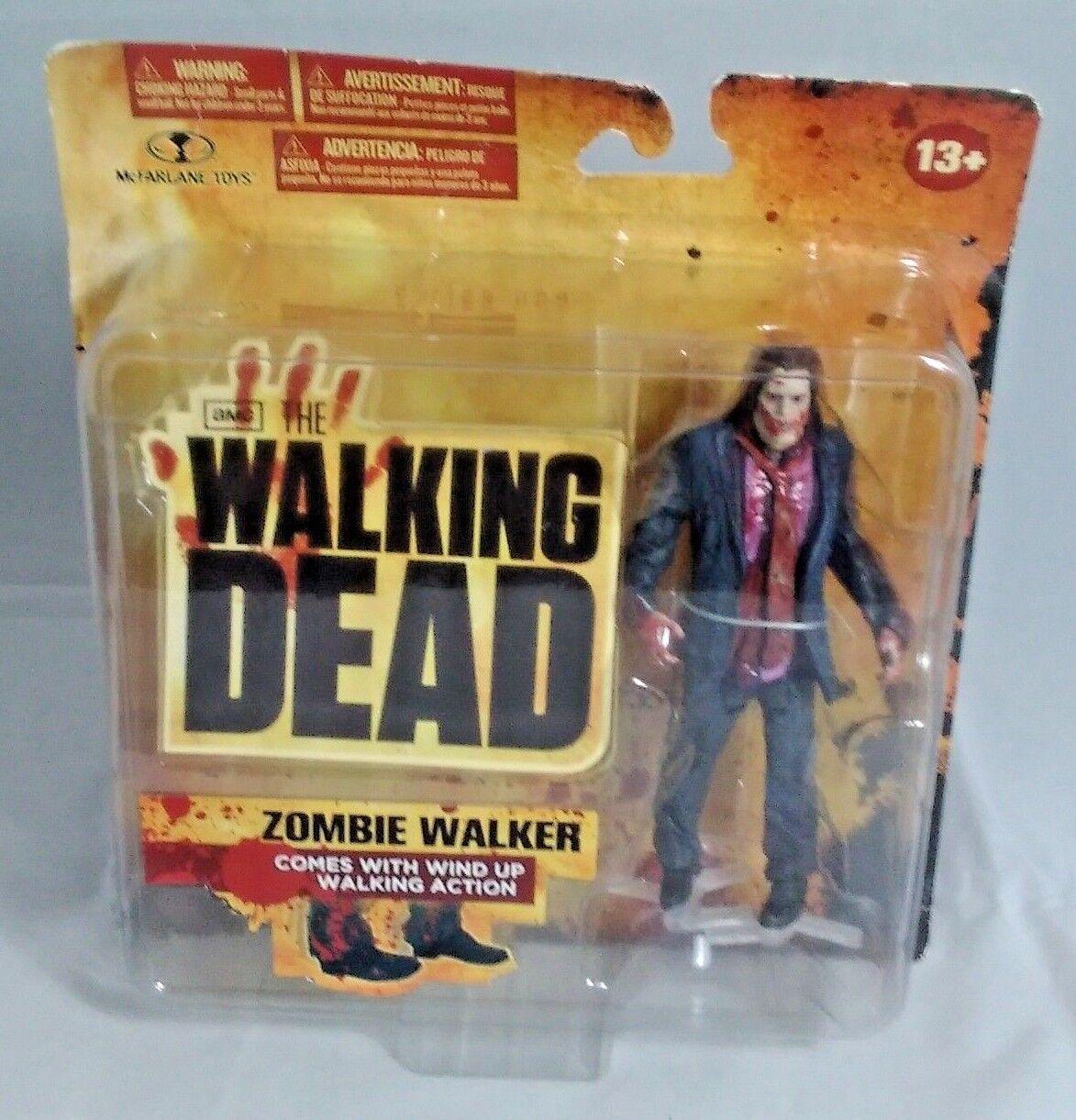 AMC The Walking Dead Series 1 - Zombie Walker w wind up walking action McFarlane