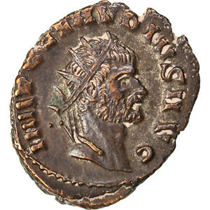Billon #67483 3.20 Nourishing Blood And Adjusting Spirit 50-53 Cohen #6 Antoninianus gothicus Au Claudius Ii