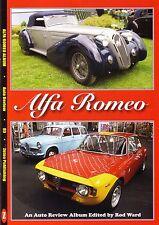 Book - Alfa Romeo Giulietta Giulia Spider Alfasud Montreal Alfetta - Auto Review