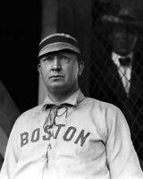 Boston Red Sox CY YOUNG Glossy 8x10 Photo Baseball Print Vintage Poster