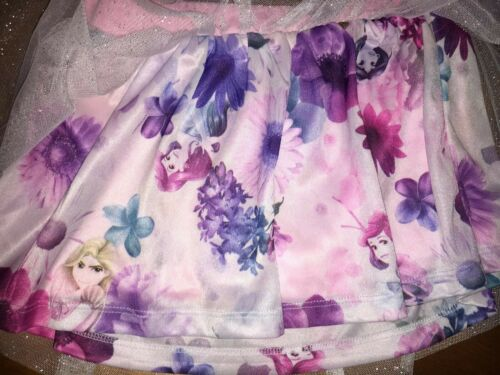 Disney Princess Sz 4t Skirt Nwt Ariel Tangled Diary Justice Stickers Easter