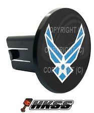 Universal Class 2  3 Tow Hitch Receiver Insert Cover Plug - USAF AIR FORCE B 8YT