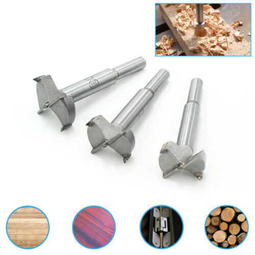 15-100mm Woodworking Alloy Forstner Drill Bit Wood Hinge Boring Hole Saw Cutter