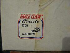 Eagle Claw Sz.8 90o Krawfish Aberdeen Jig Hooks F570K-8 EB180606 900