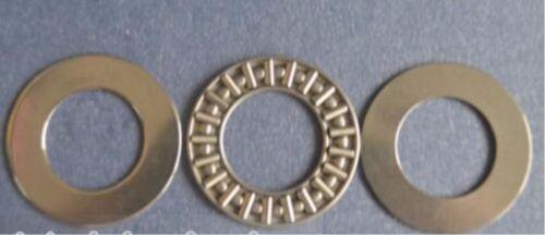 10pcs NEW AXK3047 30x47x2mm Thrust Needle Roller Bearing Washers