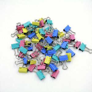 60x-Metal-Binder-Clips-for-File-Paper-Notebook-Organizer-School-Office-Supply