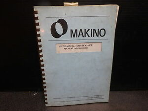 makino mechanical maintenance manual mm02 fx650 mmfx6509202m ebay rh ebay com