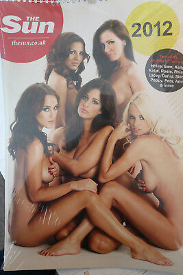 The Sun Page 3 Girls Calendar 2012 - Topless Collectors Item (NEVER OPENED!)