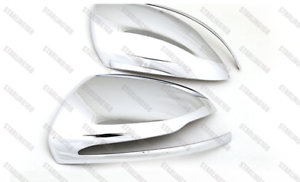 ABS Chrome Tape-on Mirror Covers for Mecedes-Benz C E S Class W205 W222 W213