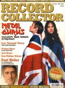 No-289-Sept-2003-Iron-Maiden-Paul-Weller-Magazine-Record-Collector-VG
