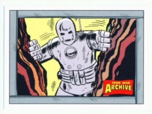 "/""9 CARD IRON MAN ARCHIVE TALES OF SUSPENSE SET #AR1-AR9/"" MARVEL IRON MAN"