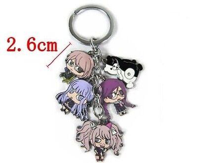 Dangan Ronpa Ibuki Mioda anime Cluster Keychain Key Rings