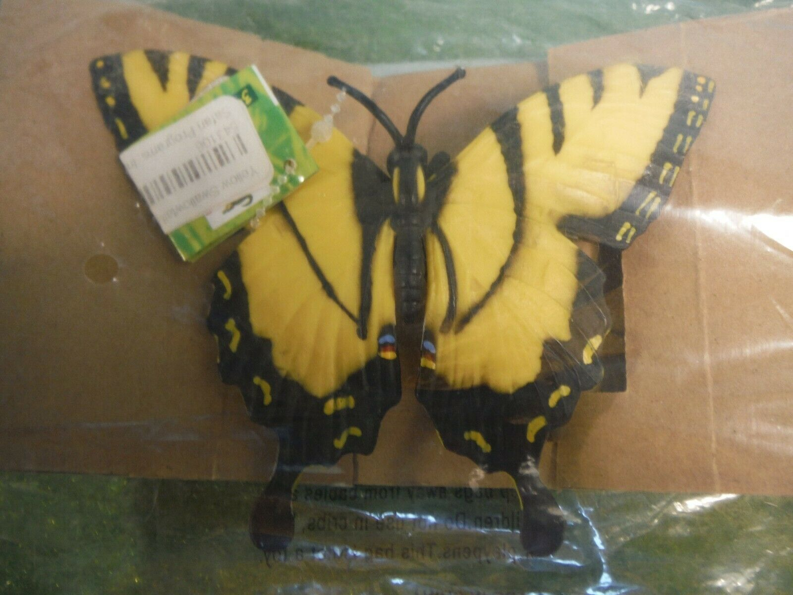SAFARI YELLOW SWALLOWTAIL BUTTERFLY NEW