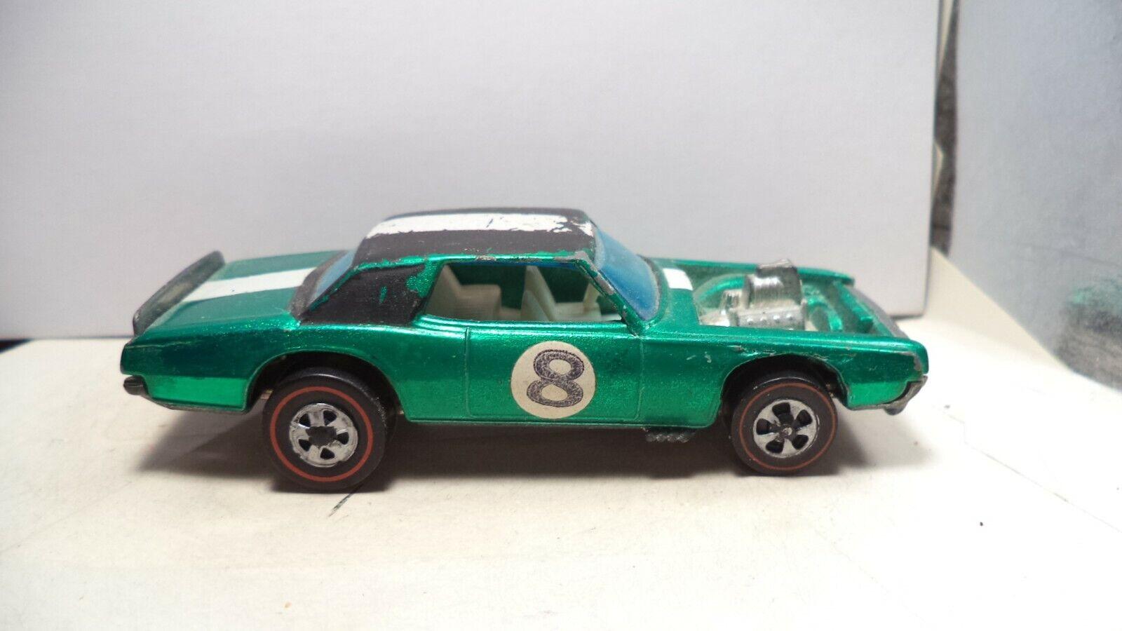 Vintage Hot Wheels rosso Lines HK 1970 TNT-Bird [verde]
