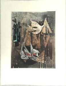 Renee-LUBAROW-1923-litho-signee-et-numerotee