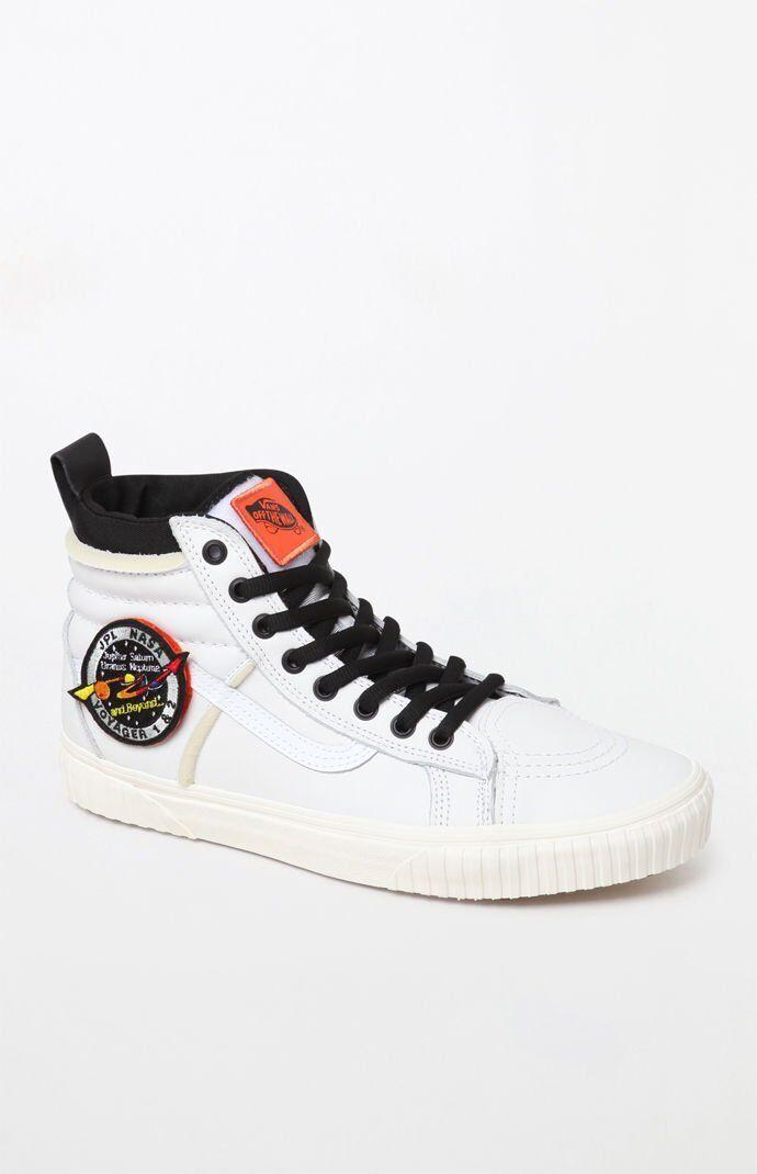 Vans X Nasa Sk8-Hi 46 MTE Dx Weiß Fach Voyager Collab Herren Damen Schuhe Neu