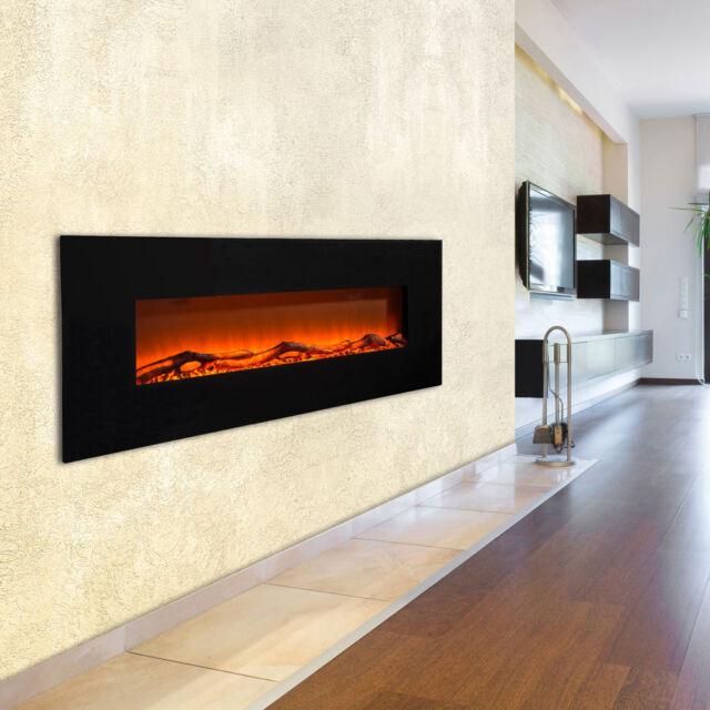 Stand Wand Steh Heizung Elektro Fernbedienung LED Flammen Effekt Timer 1600 Watt