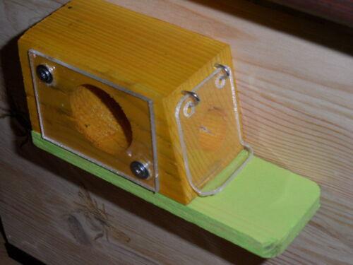 Hummel Home Wax Moth Lock Hummel Flap Weatherproof Mottled Sight Glass