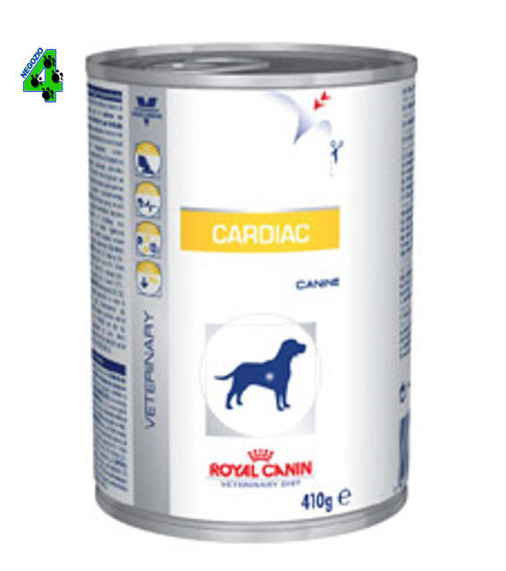 ROYAL CANIN 24 barattoli Cardiac 410 gr alimento umido per cani cane