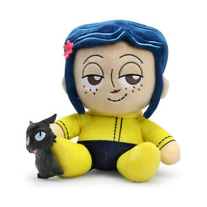 Kidrobot-Coraline-Phunny-Coraline-And-The-Cat-Plush-Figure-NEW-Toys-Plushies