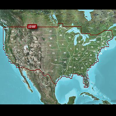 Garmin U.S LakeVu HD Navigational Software and Safety Shading