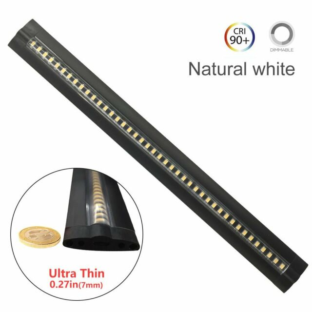 Ultra Thin Dimmable LED Under Cabinet Lighting 30cm/12in Nature White 600LM